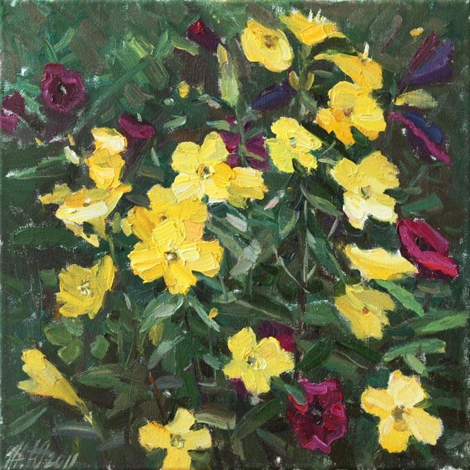 Картины с природой красивые цветы